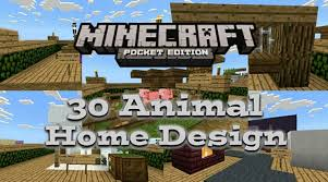 home design for minecraft 30 animal home designs creation 1 1 0 9 only minecraft pe map