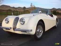 1952 english white jaguar xk120 roadster 12521599 gtcarlot com
