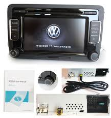 vw car stereo radio rcd510 usb mp3 aux sd golf passat touran