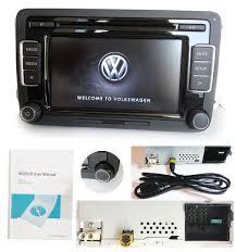 vw car stereo radio rcd510 usb mp3 aux sd golf passat touran