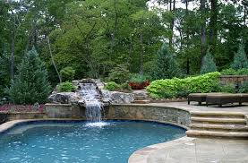 Patio That Turns Into Pool The Hottest Poolside Landscape Trends To Shape Your Sizzling