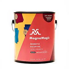 amazon com magnamagic active wall magnetic wall paint one
