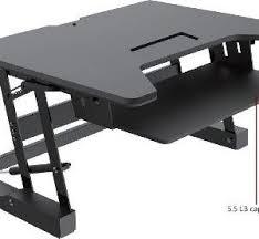 height adjustable desk riser in black or white better office