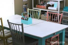 Craft Room Tables - craft room tour