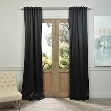 exclusive fabrics u0026 furnishings semi opaque jet black blackout