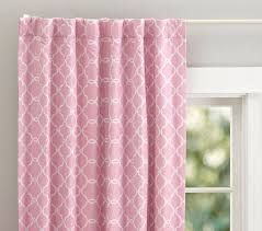 Soft Pink Curtains Abigail Blackout Panel Pottery Barn Soft Pink Curtains Quincy