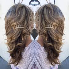 layred hairstyles eith high low lifhts high and low light with layers and curls a lil bit of me