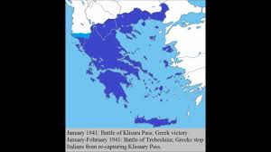 Map Of Europe During Wwii by Greece During Ww2 Youtube