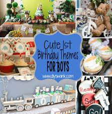 1st birthday boy boy 1st birthday party themes