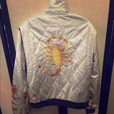 drive jacket replica other ryan gosling drive jacket blood stained replica poshmark