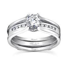 barkev s white gold bridal set 7492s barkev s