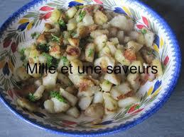 cuisiner topinambours poêlée de topinambours et pommes de terre mille et une saveurs
