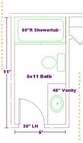 Small Bathroom Floor Plans  X   Awesome Layouts That Will Make - 6 x 6 bathroom design