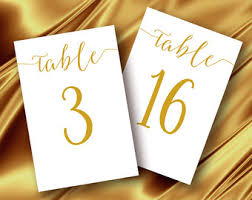 wedding table number fonts table numbers printable 4x6 classic wedding table number 1 30
