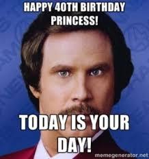 Princess Birthday Meme - 40th birthday princess meme 2happybirthday