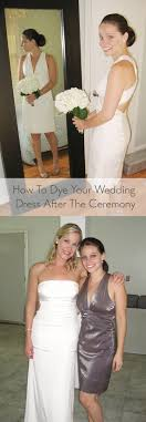 chagne wedding dress how to diy dye your wedding dress and wear it again and again it