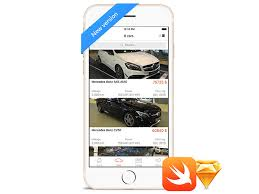 new car dealerships ios app template and source code