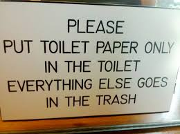 Toilet Paper Funny Paper Only Funny Sign