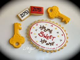 housewarming cookies lizy b home sweet home