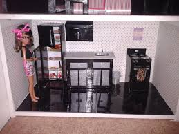 barbie kitchen furniture barbie kitchen in bookcase doll house all furniture made from