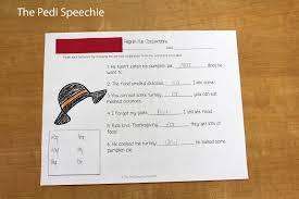 Fun Thanksgiving Questions Speech Therapy Thanksgiving The Pedi Speechie