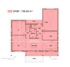 surface habitable minimum d une chambre surfaces shob shon et habitable cas pratique en images