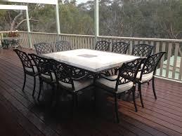 the undeniable elegance of cast aluminum furniture outdoor elegance