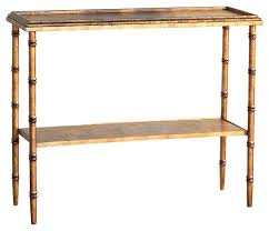 Gumtree Console Table Console Tables Gold Regency Style Gold Faux Bamboo Console