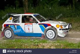 peugeot 205 t16 1986 peugeot 205 t16 e2 with driver enda garvey at goodwood