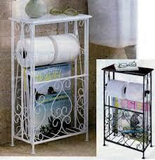 Wrought Iron Bathroom Furniture Wrought Iron Bath Organizer White Health Personal