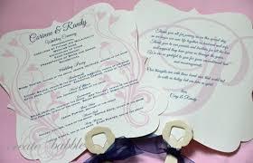 fan wedding programs diy wedding programs kylaza nardi