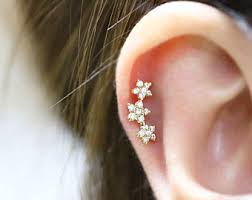best place to buy cartilage earrings cartilage earring etsy
