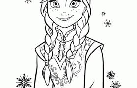 anna coloring pages colorings