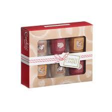 candle cookie swap 6 sampler votive gift set