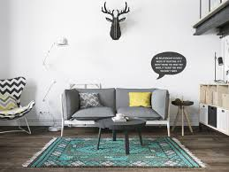 Scandinavian Room by Decorations Small One Room Apartments Featuring A Scandinavian
