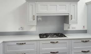 glass metallic painted kitchen glass splashbacks light grey