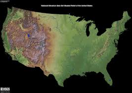 us relief map usa shaded relief map from usgs 3700x2610 mapporn