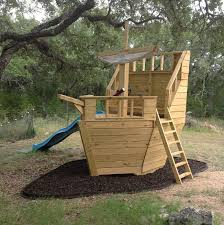 Pirate Ship Backyard Playset by Build Your Own Pirate Ship Playhouse How Cool Is This Natural