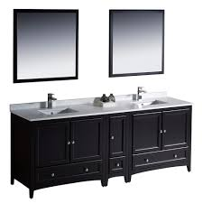 84 inch double sink bathroom vanities fresca bath fvn20 361236es oxford 84 double sink vanity with side