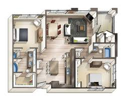house plans with basement apartments apartment floor plan interior design ideas luxury apartment floor
