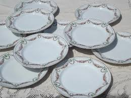 10 garland china salad dessert plates vintage h co bavar