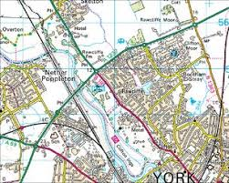 road map of york domesday reloaded the york outer ring road