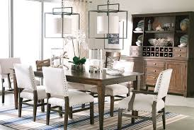 christopher dining table for breakfast area like this finish