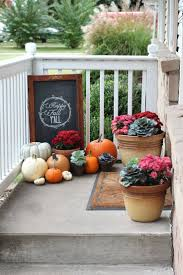 Fall Decorated Porches - best 25 small porch decorating ideas on pinterest fall porch