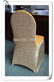 gold spandex chair covers free shipping gold glitter spandex chair cover in chair cover from
