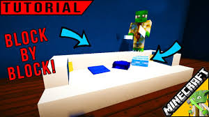 Minecraft How To Make A Furniture by Minecraft Furniture How To Make A Couch Youtube