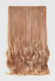 Blonde Weft Hair Extensions by Extreme Volume Honey Blonde 27 613 Curly Clip In Weft Pink Boutique