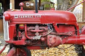 international harvester home decor international harvester mccormick farmall cub farm tractor 7d10310