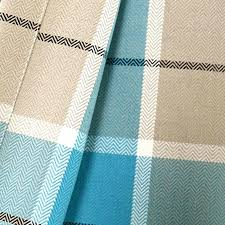 Navy Blue Plaid Curtains Classic Blue Plaid Curtains Linen Fabric Navy Blue Plaid