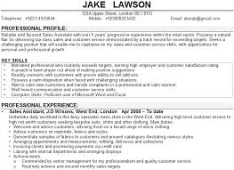 Job Profile In Resume by Resume Examples Profile In Sample Throughout 23 Terrific Example